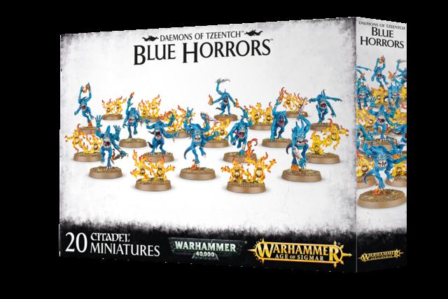 Warhammer AoS Daemons Of Tzeentch Blue Horrors