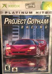 Microsoft Xbox (XB) Project Gotham Racing Platinum Hits [In Box/Case Complete]