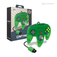 Hyperkin Captain Premium Controller Transparent Green (N64)