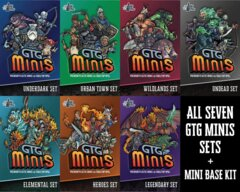 GTG Minis Bundle (7 sets + Base Kit 8S/5M/4L)