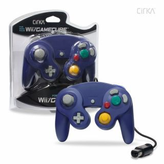 Cirka Wired Controller (GameCube/Wii) Purple
