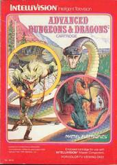 Mattel Electronics Intellivision Advanced Dungeons & Dragons [In Box/Case Complete]
