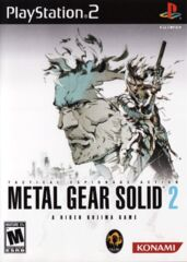 Sony Playstation 2 (PS2) Metal Gear Solid 2 (from Essential Collection) [In Box/Case Complete]