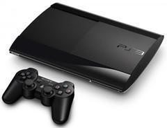 Sony Playstation 3 (PS3) Super Slim Console 250GB (Model CECH-4001B, 1 Controller, Charging, HDMI & Power Cables)