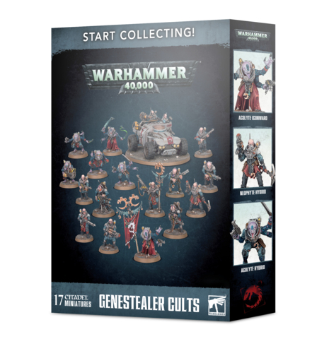 Warhammer 40k Start Collecting! Genestealer Cults