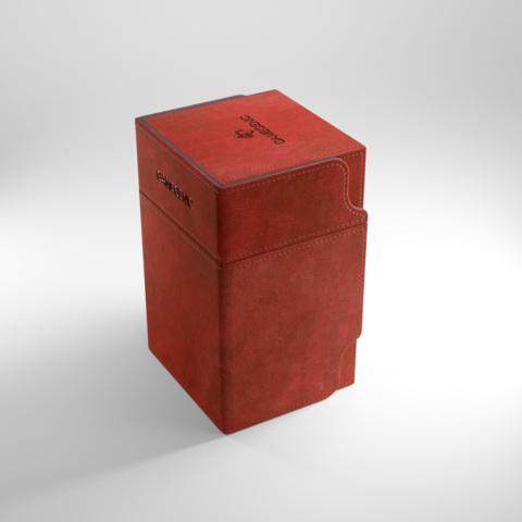 Gamegenic Watchtower 100+ Convertible Deck Box Red