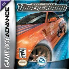 Nintendo Game Boy Advance (GBA) Need for Speed Underground