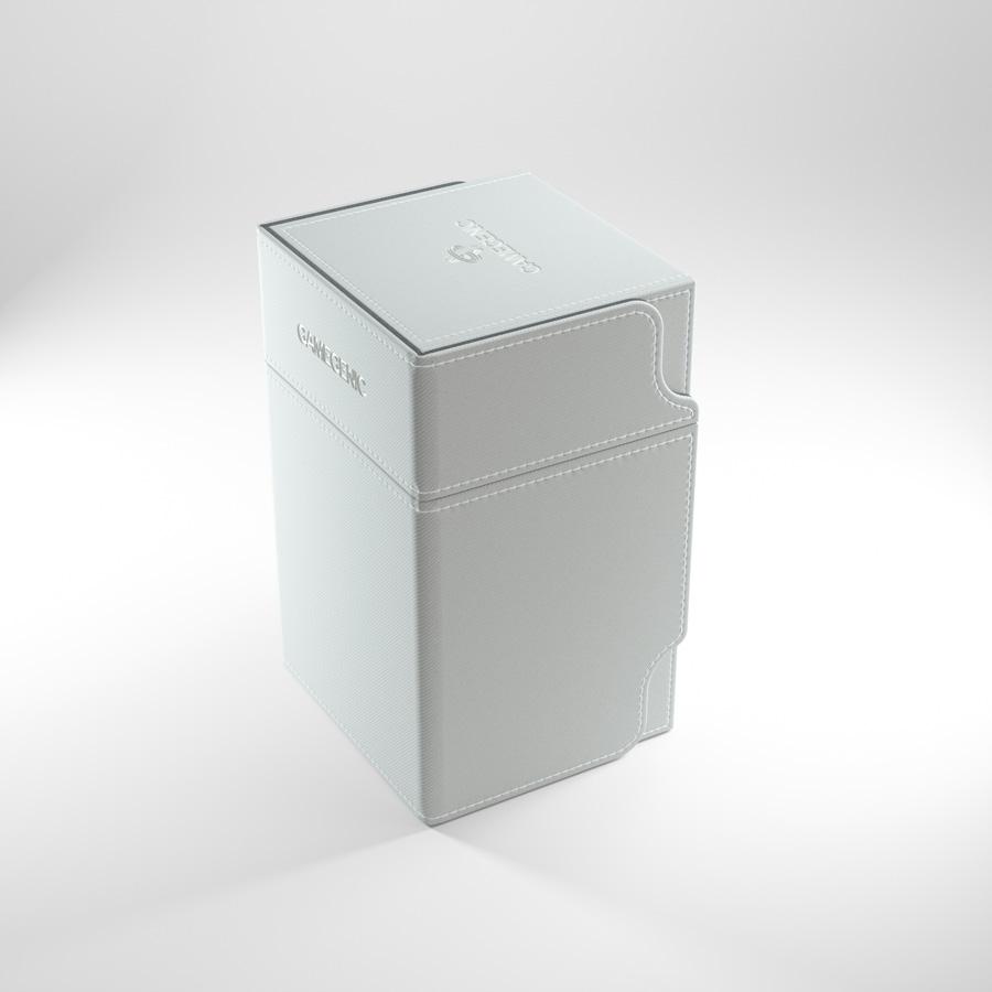 Gamegenic Watchtower 100+ Convertible Deck Box White