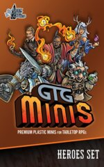 GTG Minis Heroes Set with Bases (5S)
