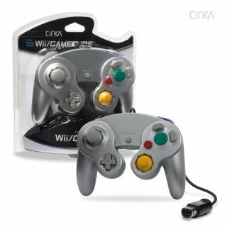 Cirka Wired Controller (GameCube/Wii) Silver