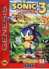 Sega Genesis Sonic the Hedgehog 3 (Damaged Label) [In Box/Case Complete]