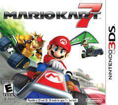 Nintendo 3DS Mario Kart 7 (White Case) [In Box/Case Complete]
