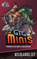 GTG Minis Wildlands Set with Bases (4S/3M/2L)