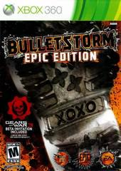 Microsoft Xbox 360 (XB360) Bulletstorm Epic Edition [In Box/Case Complete]
