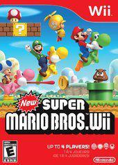 Nintendo Wii New Super Mario Bros Wii [In Box/Case Complete]