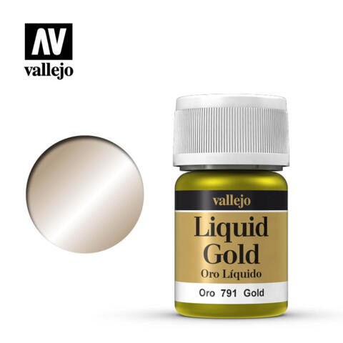 VAL70791 Gold, Alcohol Based 35ml