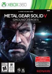 Microsoft Xbox 360 (XB360) Metal Gear Solid V Ground Zeroes [In Box/Case Complete]