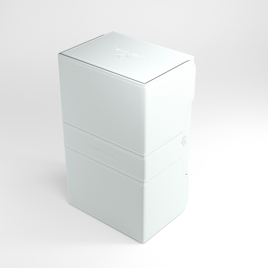 Gamegenic Stronghold 200+ Convertible Deck Box White