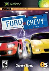Microsoft Xbox (XB) Ford vs Chevy [In Box/Case Complete]