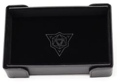 Die Hard Magnetic Folding Dice Tray Black