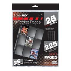 Ultra Pro Hologram 9-Pocket Binder Page (Pack of 25)