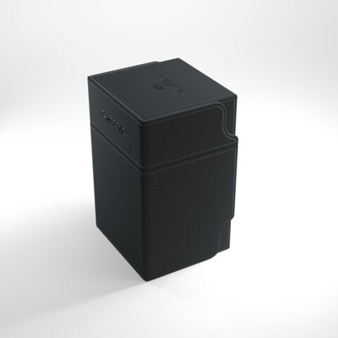 Gamegenic Watchtower 100+ Convertible Deck Box Black