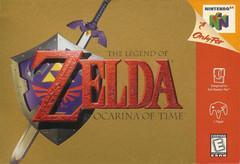 Nintendo 64 (N64) Legend of Zelda Ocarina of Time [Loose Game/System/Item]