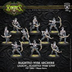 PIP73086 HRD LoE Blighted Nyss Archers/Swordsmen (10-man) Box