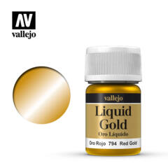 VAL70794 Red Gold, Alcohol Based 35ml