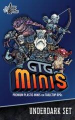 GTG MInis Underdark Set with Bases (4S/3M/2L)