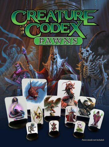 Kobold Press 5th Edition Creature Codex Pawns