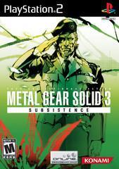 Sony Playstation 2 (PS2) Metal Gear Solid 3 Subsistence