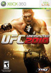 Microsoft Xbox 360 (XB360) UFC Undisputed 2010 [In Box/Case Missing Inserts]