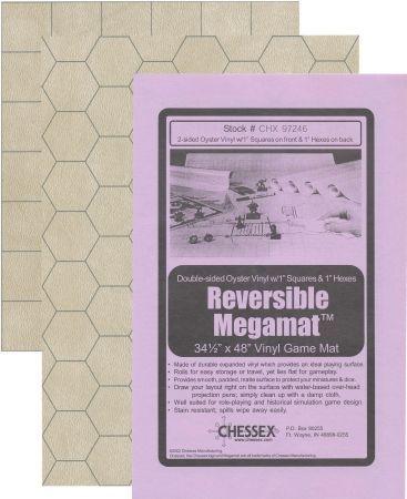 CHX97246 Battlemat 1 Hex & Square Reversible 34.5 x 48