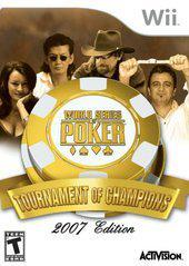 Nintendo Wii World Series of Poker Tournament of Champions 2007 Edition [In Box/Case Complete]
