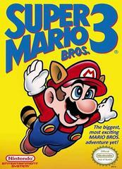 Nintendo NES SUper Mario Bros 3 (w/Box & Manual) [In Box/Case Missing Inserts]