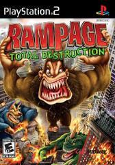 Sony Playstation 2 (PS2) Rampage Total Destruction