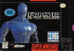 Nintendo SNES Rise of the Robots [Loose Game/System/Item]