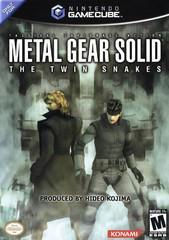 Nintendo Gamecube Metal Gear Solid The Twin Snakes [In Box/Case Missing Inserts]