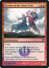Dictate of the Twin Gods (Pre-release Promo)