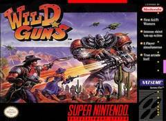 Nintendo SNES Wild Guns (Label Damage)