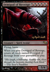 Demigod of Revenge (Prerelease Promo)