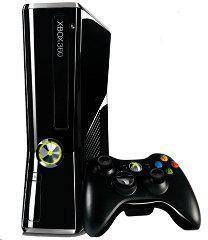 Microsoft Xbox 360 Console Slim Model 1439 (1 Wireless Controller, 250GB HDD, Composite & HDMI Cables, Power Cables)