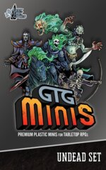GTG Minis Undead Set with Bases (4S/3M/2L)