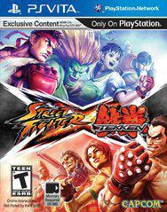 Sony Playstation Vita (PS Vita) Street Fighter X Tekken