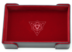 Die Hard Magnetic Folding Dice Tray Red