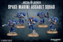 Warhammer 40k Adeptus Astartes Space Marine Assault Squad
