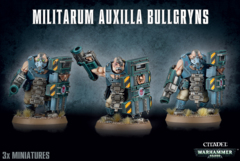 Warhammer 40k Astra Militarum Bullgryns