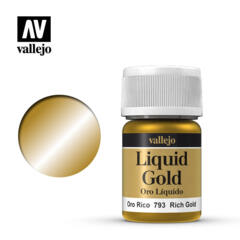 VAL70793 Rich Gold, Alcohol Based 35ml