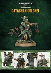 Warhammer 40k Astra Militarum Catachan Colonel